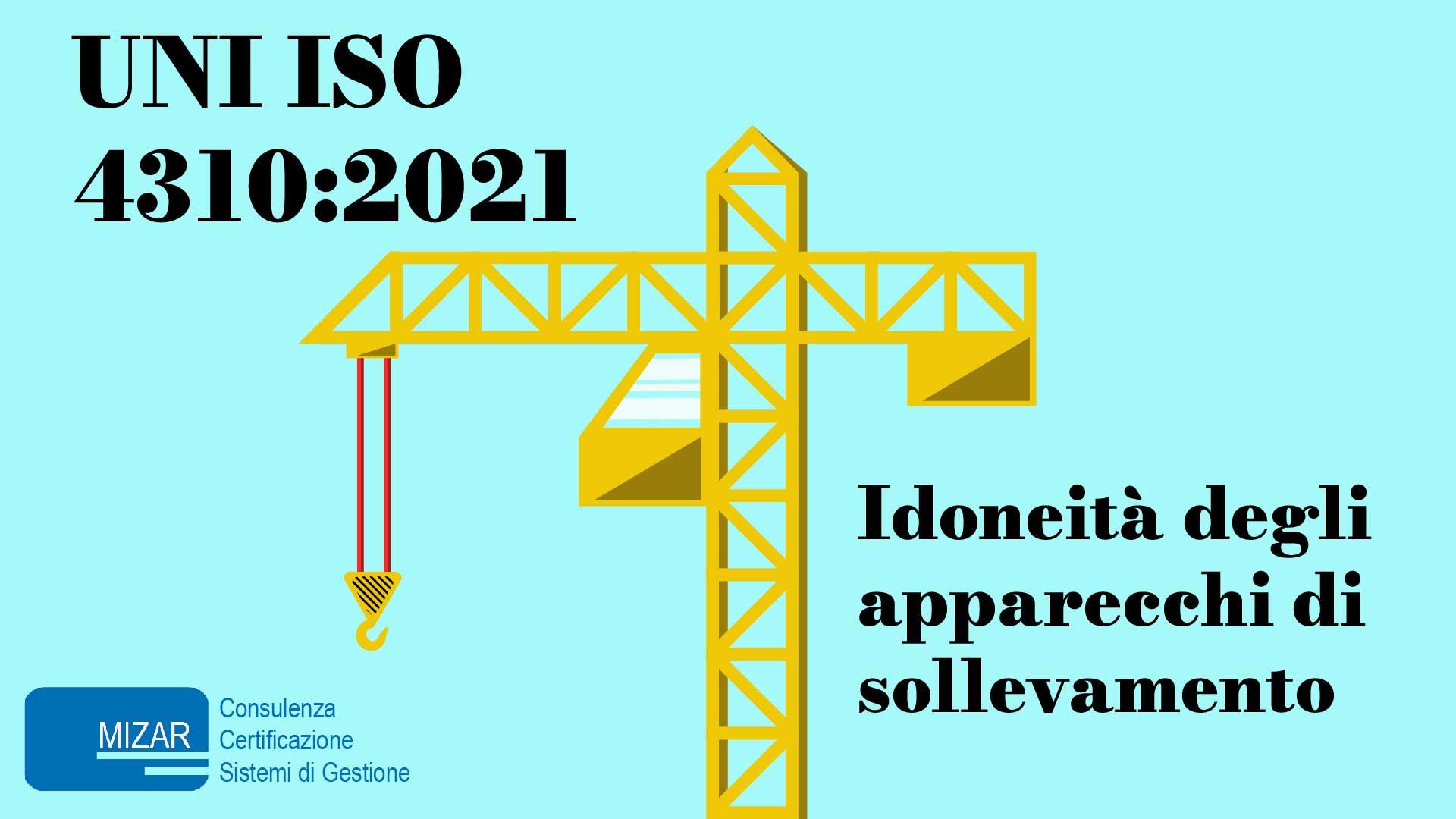 UNI ISO 4310:2021